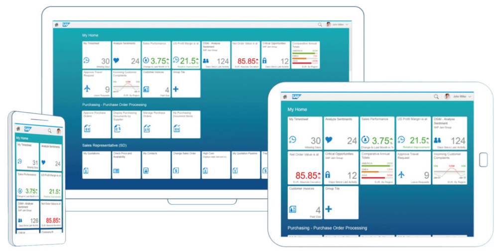 Fiori – a Facelift to SAP