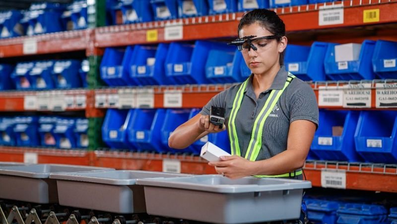 Zebra Technologies' HD4000 – the latest smart glasses for industrial augmented reality